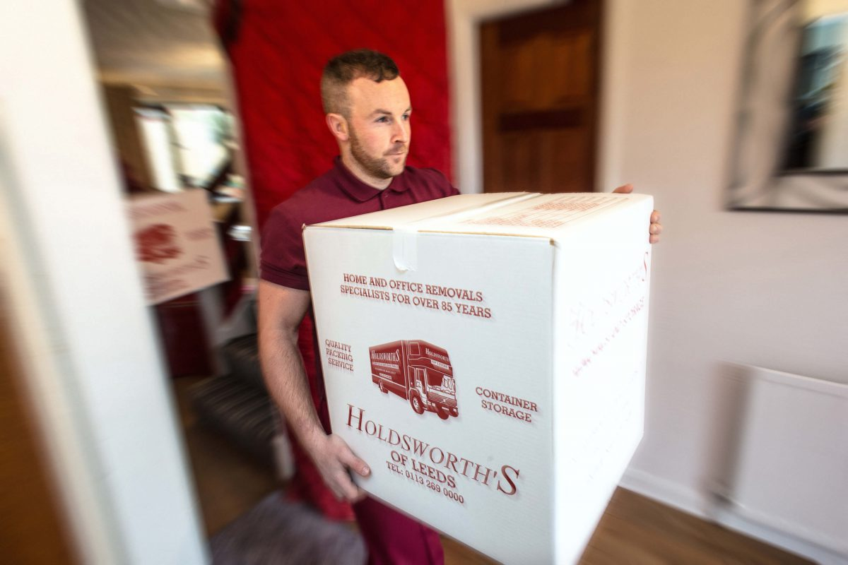 Removal Man With Box