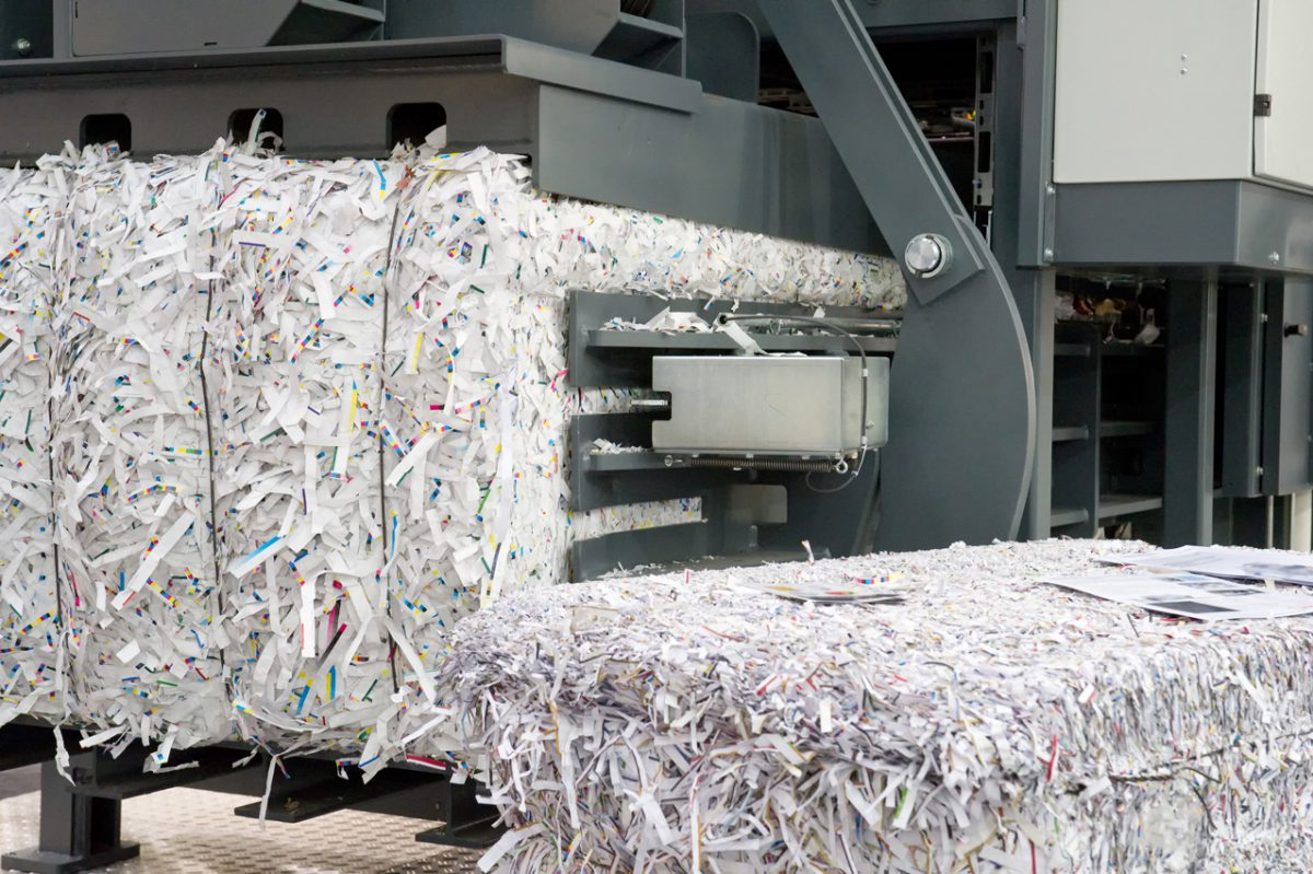 Holdsworths Professional Shredding