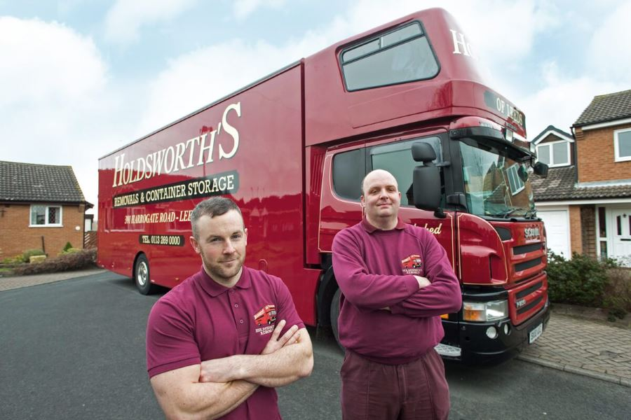 Holdsworths Removals Team